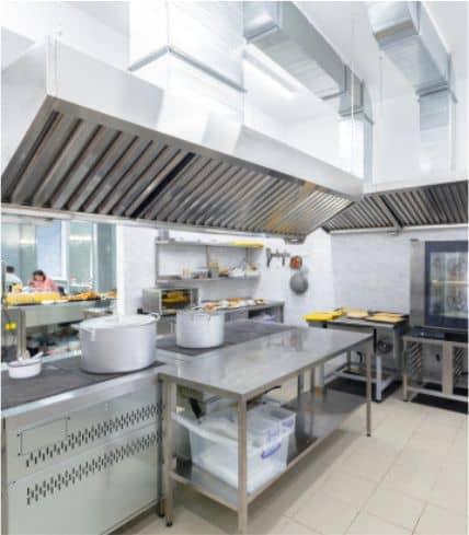 mantenimiento cocinas profesionales